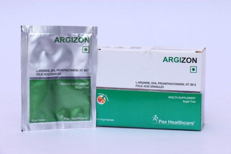 L-arginine DHA, proanthocyanidin, VIT.B6 and folic acid granules