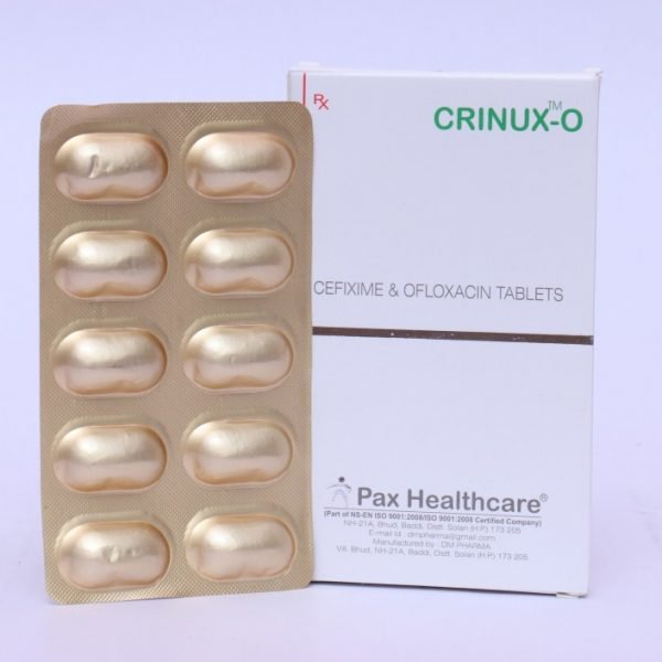 CEFIXIME 50 MG +OFLOXACIN 50 MG /5 ML