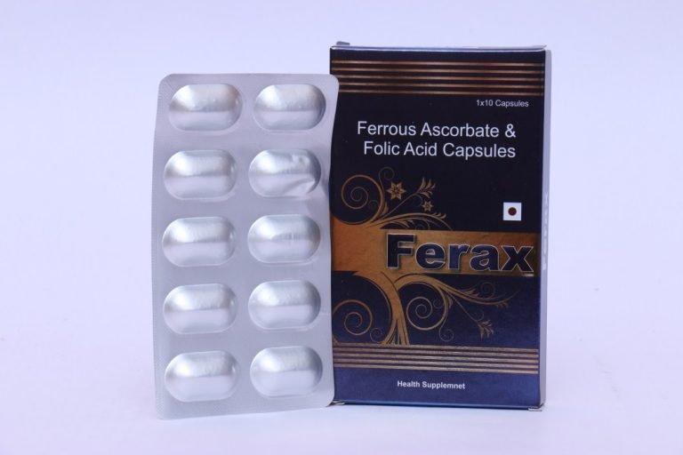 Ferrous Ascorbate & folic Acid caspules