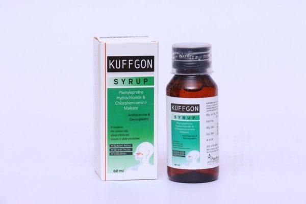 Phenylephrine Hydrochloride & Chlorpheniramine Maleate Syrup