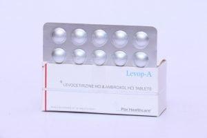 Levocetrizine HCI & Ambroxol HCI tablets
