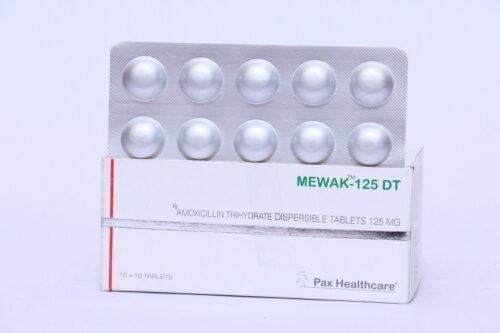 Amoxicillin trihydrate dispersible tablets