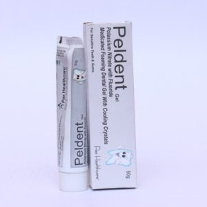 Pottasium Nitrate with Fluoride gel