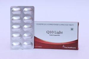 Co-enxyme Q10, lycopene powder & Amino Acid tablets