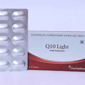 Co-enxyme Q10, lycopene powder & Amino Acid tablets