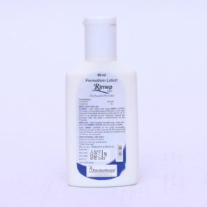 Permethrin lotion