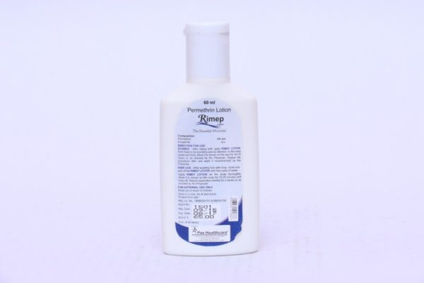 Permethrin lotion
