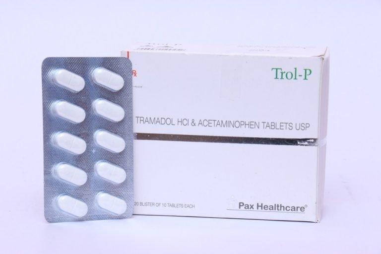 Tramadol HCl & Acetaminophen tabltes