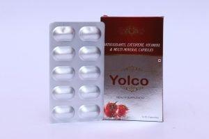 Antioxidants, lycopene, vitamins & Multi-minerals capsules